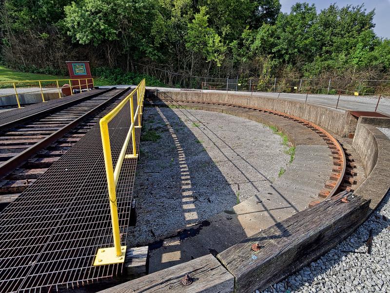East Chattanooga Railroad Turntable