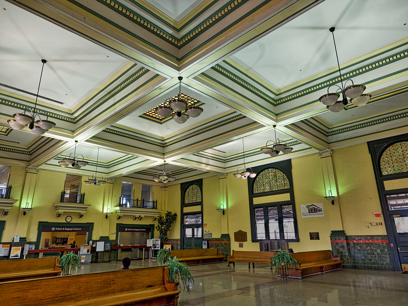Lobby of Tampa Union Station