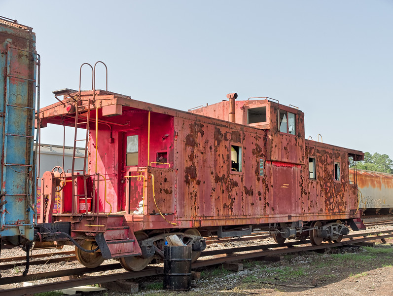 Old Bridgeport Caboose