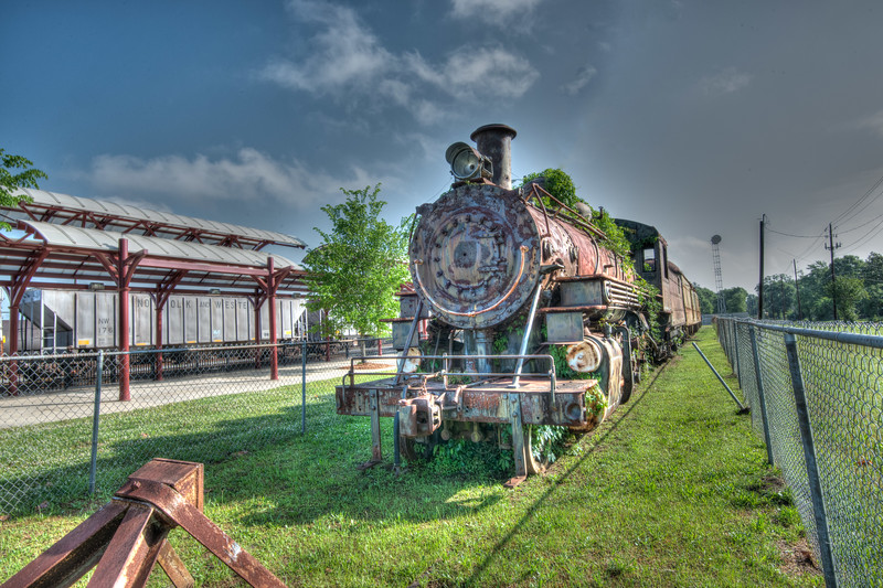 Mikado Locomotive in HDR