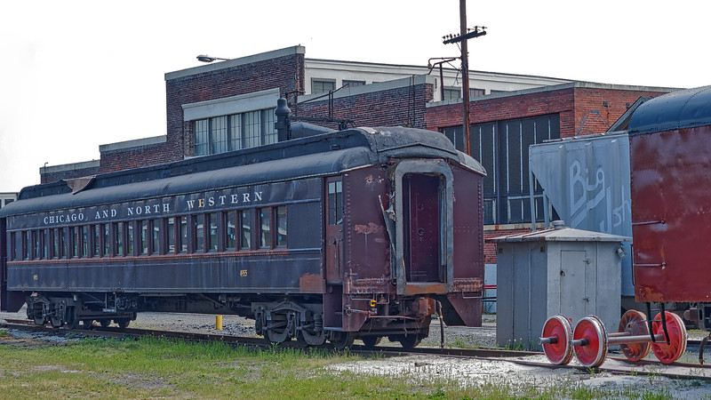 Chicago and North Western Passenger Car