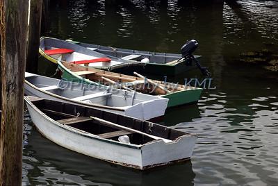 Rowboats at the Dock