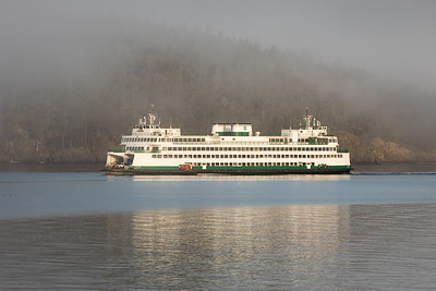 WSF Yakima in the Fog