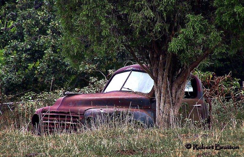 Old (Ran When Parked) Pick-up Truck