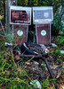 Pair of Gas Pumps