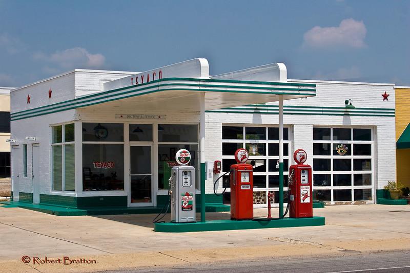 Vintage Texaco Station
