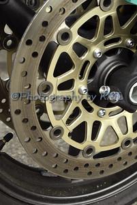 Motorcycle Wheel Macro