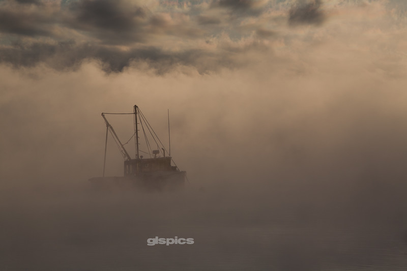 Sea Smoke at Camp Ellis