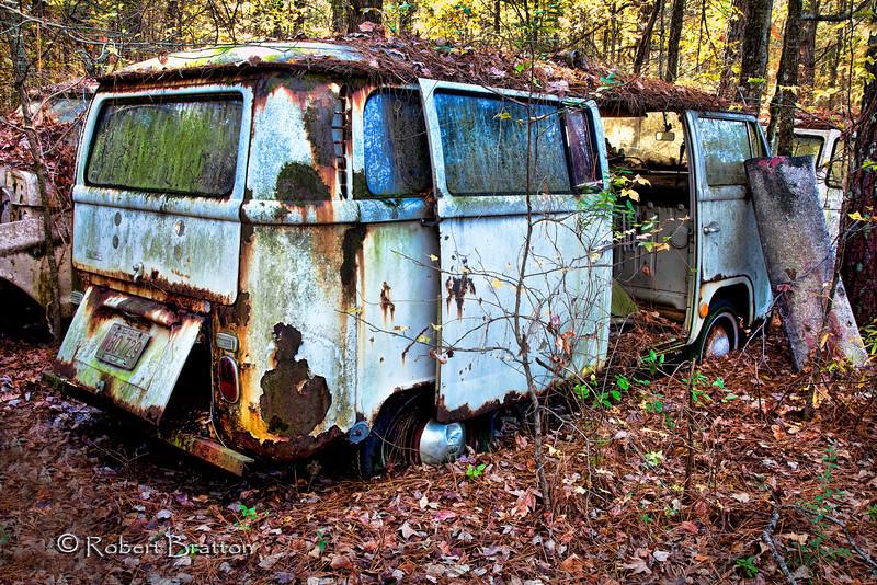 VW Bus - slightly used