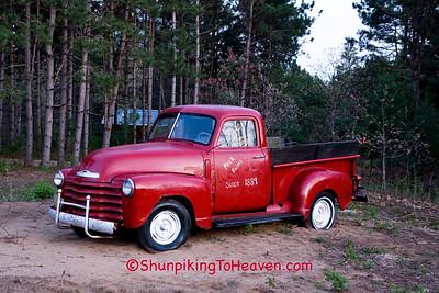 Vintage Chevrolet 3100 Truck, Sauk County, Wisconsin