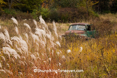 Old Studebaker Truck, Sauk County, Wisconsin