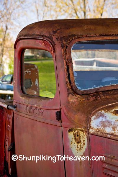 Vintage Chevrolet Truck, Henry's Rabbit Ranch on Historic Route 66, Staunton, Illinois