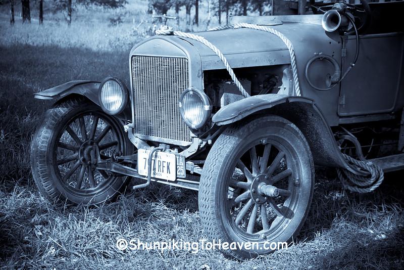Old Beverly Hillbillies Truck, Jackson Co., Iowa