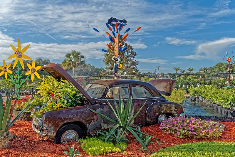Automobile Planter