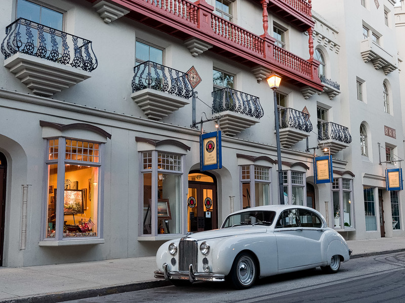 Jaguar Mark VIII  Downtown St. Augustine