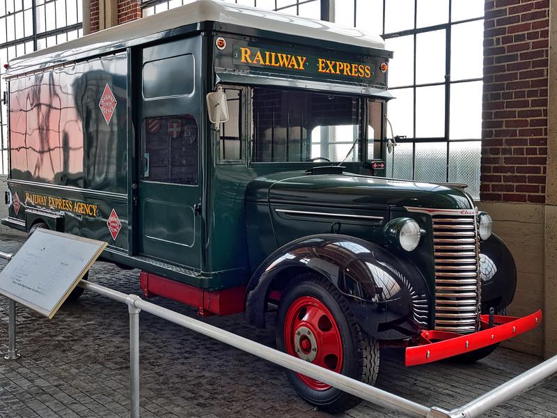 Antique Railway Express Chevrolet Truck
