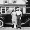 Sylvia & Ed with 1935 Ford