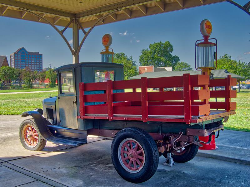 Old International Truck at Huntsville Depot