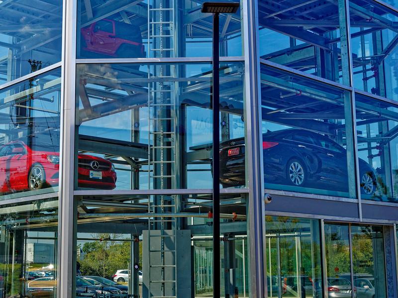 Cars on Carvana Vending Machine
