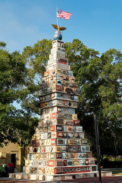 Monument of States in Kissimmee, Florida