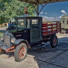 Old International Truck at Huntsville Depot