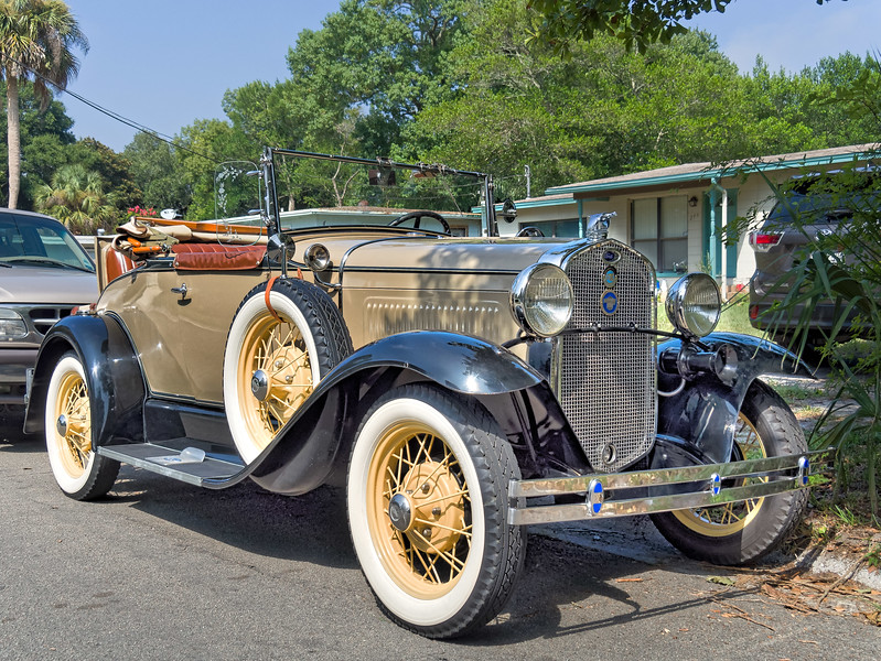 1930 Ford Model 'A' Deluxe Roadster