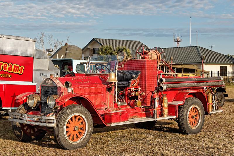 American France Firetruck