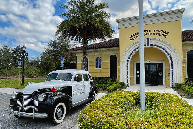 Green Cove Springs Antique Police Car