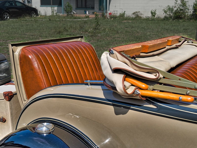 Rumble Seat of 1930 Ford Model 'A'