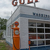 Gulf Oak Service Station Air Pump