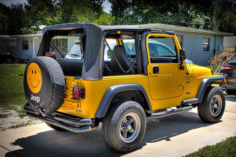 Sandy's 2001 Jeep  Wrangler TJ
