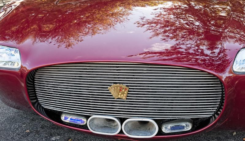 Diamond Royal Flush Car