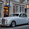 Jaguar Mark VIII Parked Downtown St. Augustine