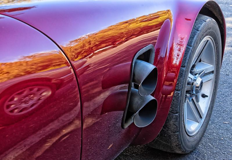 Exhaust of Interlachen, Florida Race Car