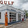 1950's Gulf Station