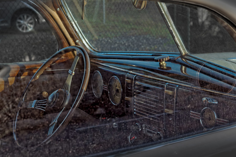 Interior of 1939 Ford Deluxe