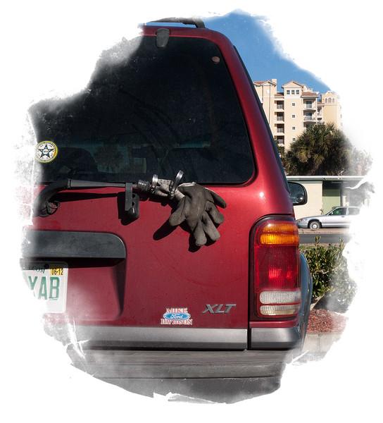 Rear-Window Cleaner