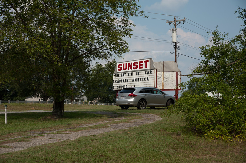 Sunset Drive-In, Shelby, N.C.