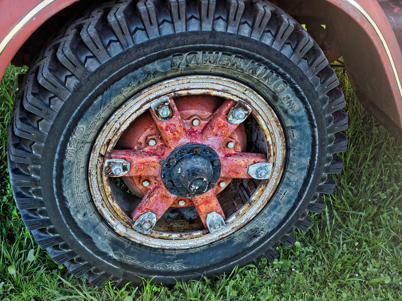 FWD Firetruck's Wheel