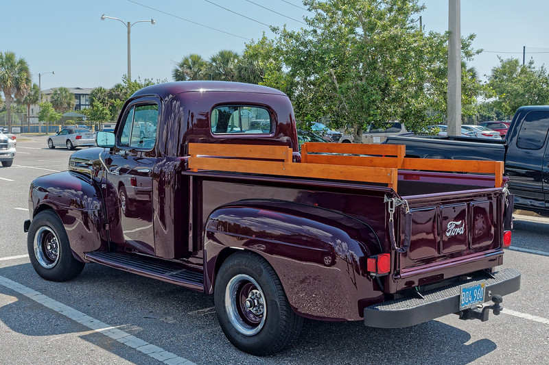 Jacksonville Beach 1948 Ford Pickup