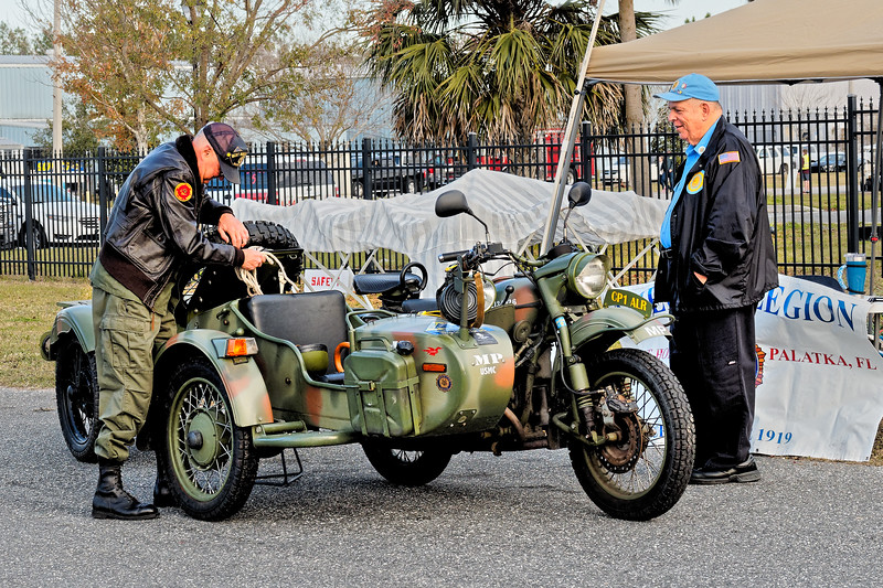 Marine Corp, Military Police Motorcycle