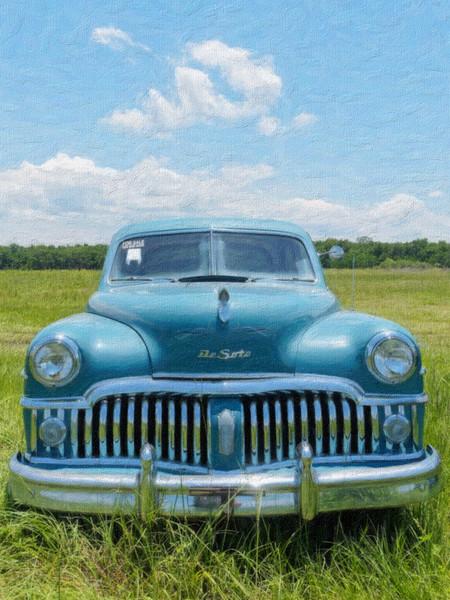Late 1940's Desoto Sedan