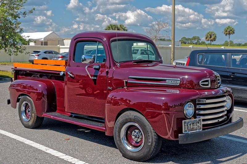 Jacksonville Beach 1948 Ford Pickup