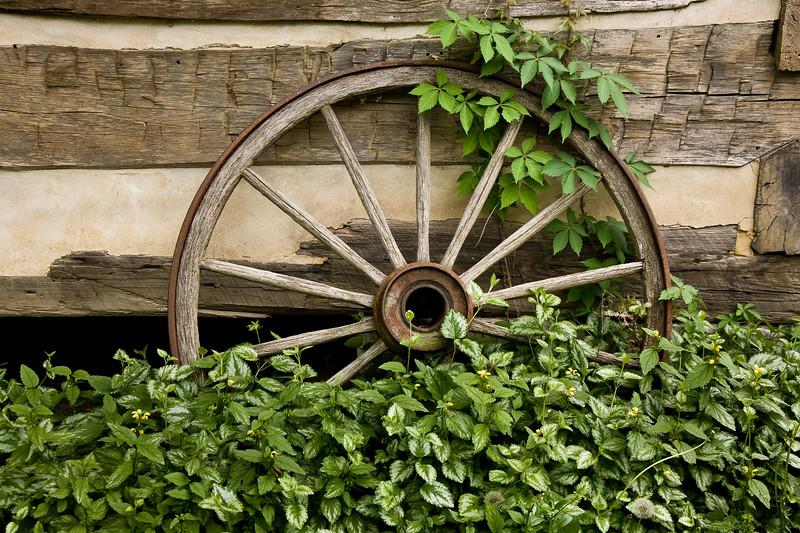 Old Wagon Wheels, Boone County, Kentucky