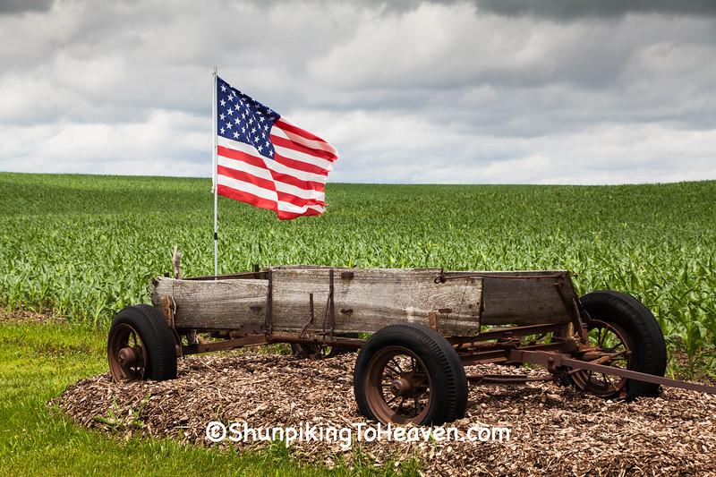 Patriotic Wagon, Dubuque County, Iowa