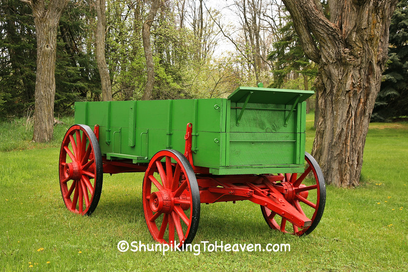 Restored Wagon, Leelanau County, Michigan