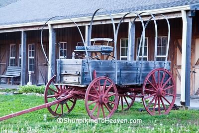 Covered Wagon, St. Joseph, Missouri