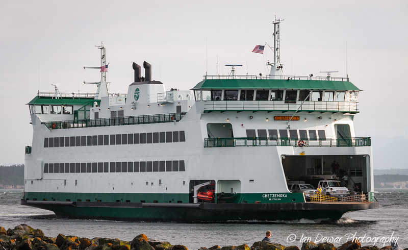 M/V Chetzemoka approaches Coupeville