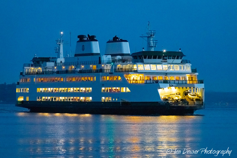 Early morning crossing for the Suquamish