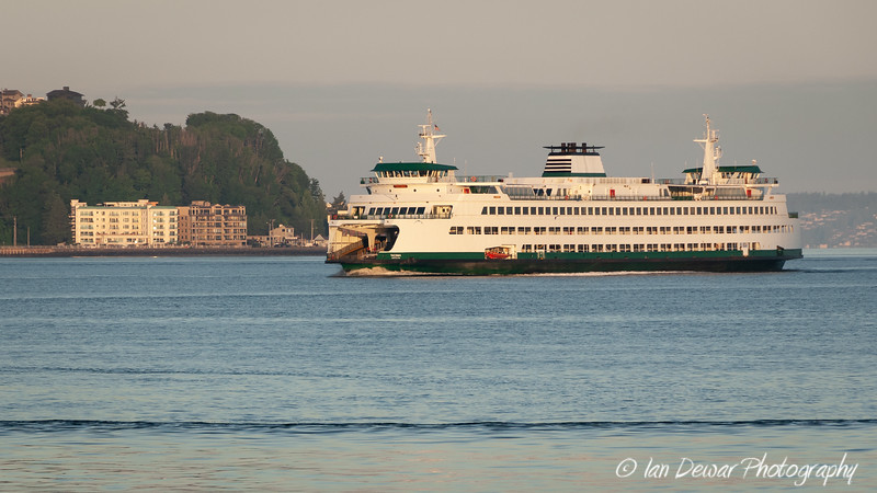 M/V Tacoma passes Alkai Point